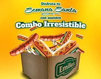 Combo Irresistible Emilio's