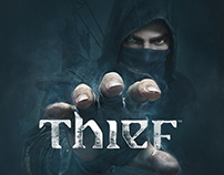 Thief 4 Game Website Redesign Concept