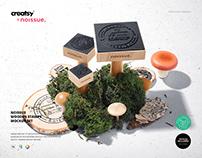 Noissue Wooden Stamps Mockup Set