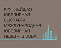 presentation for the exhibition in Dubai