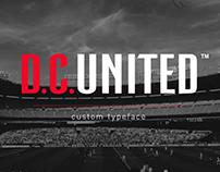D.C. United typeface
