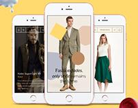 Goldify - Gold Shop - e-commerce UI Kit