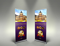 Hotel Signage Rollup Template