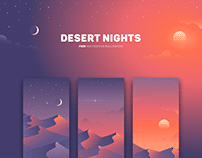 Desert Nights - free wallpapers