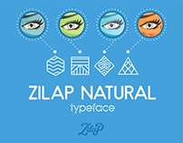 Zilap Natutal typeface