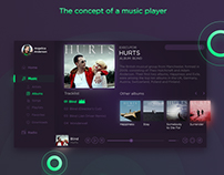 Concept Music Player