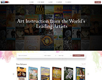 Web Design for Art Magazine