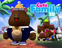 CUTE FAMILY 3D - isaias Creativo