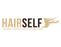 Hairself.pl - logo for an hair extensions ecommerce