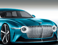 2020 Bentley EXP 100 Luxury Grand Touring