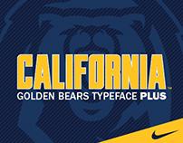 UC Berkeley | Nike Golden Bears Typeface Plus