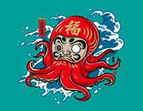 达摩章鱼Dharma octopus