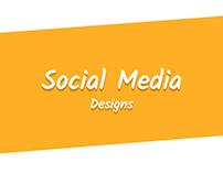 Social Media Designs 1