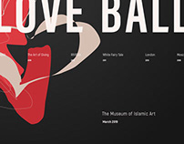 Love Ball in Museum of Islamic Art