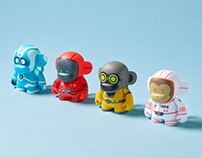 MonkeyTag Mascot Resin and Vinyl Toys