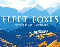 Fleet Foxes Poster