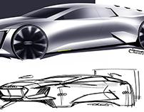 Free sketch (Audi)
