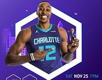 Charlotte Hornets 2017-18 Individual Game Marketing