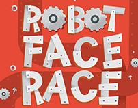 Robot Face Race Game