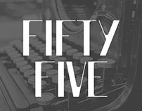 Fifty Five | Free Typeface
