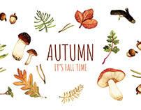 FOXIE & AUTUMN { Embroidery Project }