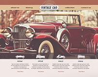 Free Vintage Car Template