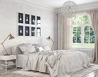 Norway Gjøra   White Bedroom