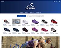 Power | Website mockup