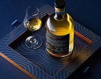 GAMA 25 Whisky Packaging Design
