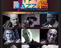Jazz at Wolfson 2018-2019