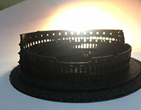 3D Printed Colosseum model