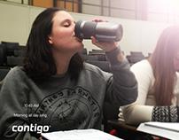 CONTIGO Travel Mug Ad Campaign