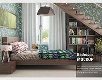 Curtain Bedroom Mock-up
