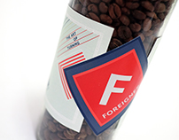 Coffee Packaging Design: Foreigner, Seattle