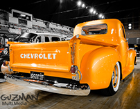 Orange Chevy