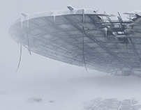 SNOW GHOST Matte painting, as Danila Tkachenko.