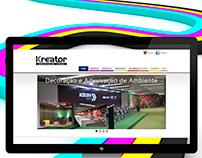 Kreator Mídia   Website