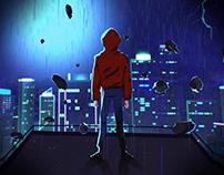 "Tencent Egame ""QGC 2018"" opening animation"