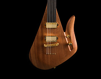 LAVA - unique fretless electric guitar