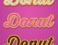 Style Donuts for Adobe Illustrator