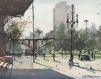 Urban Sketching in SP