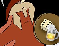 Taverna do Gladiador - Identidade Visual