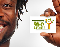 'Juntos Contra a Fome' Campaign Visual Identity