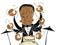 Jazz Drummers