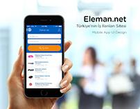 Eleman.net Mobile App