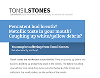 Tonsil Stones Website