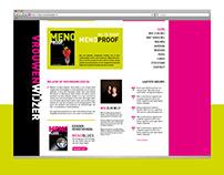 Web design - Vrouwenwijzer