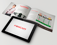 Material para Revendedores FOSCAM Brasil - 2011