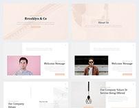 Brooklyn CorporateGoogle Slides Template