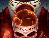 PREDATORY - Metal Album Cover